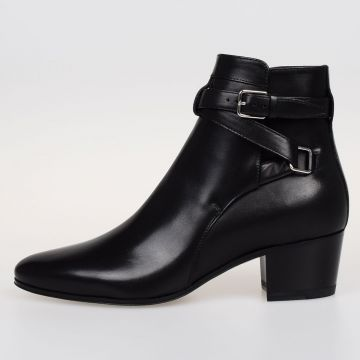 Leather BOXER Ankle Boots