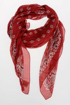 Paisley Cashmere & Silk Bandana 135x135 cm