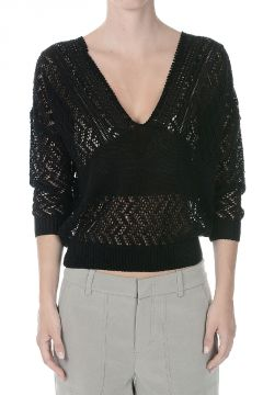 Cotton Knitted Sweater