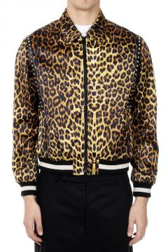 Studded Printed Jacket