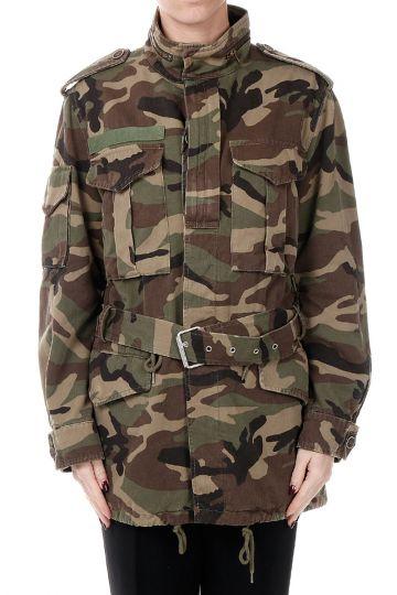 Giubbotto Camouflage in Cotone