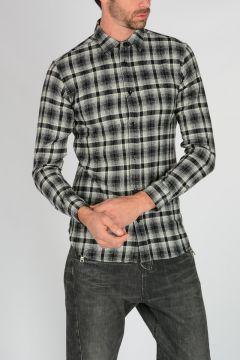 Camicia in Misto Lana