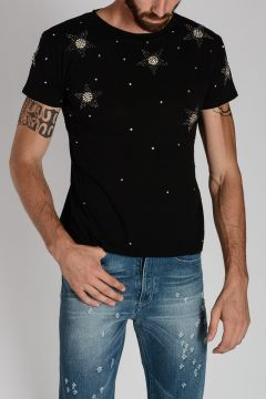 Cotton Embroidery T-shirt