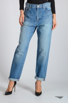 Jeans in Denim Stonewashed 17 cm