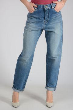 16cm Stonewashed Denim Jeans