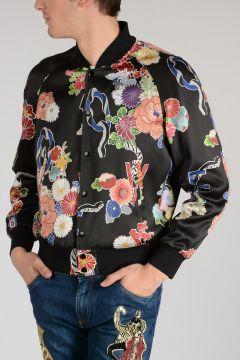 Flowered Printed Jacket