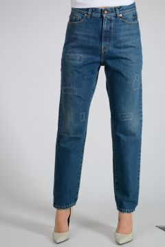 Jeans Straight Leg In Denim 16cm