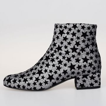 Ankle Boots BRIGHTNESS ASTER with Glitter Stars
