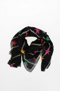 Wool ALL STARS Foulard 135 x 135 cm