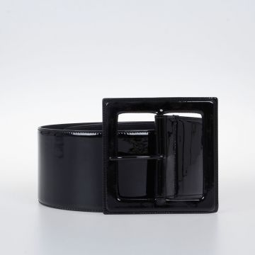 Glove Patent Leather Belt 80 mm