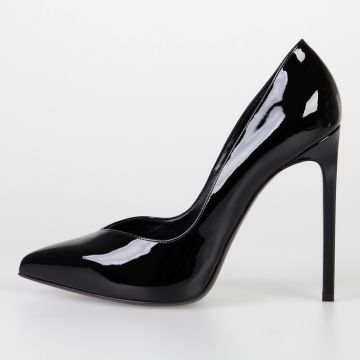 Patent Leather Decollette 12.5 cm