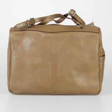Leather Hand Bag with Two Handles