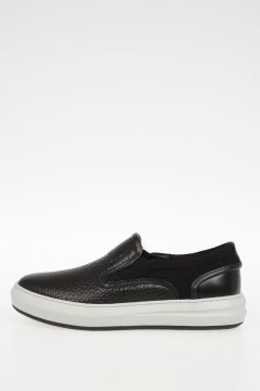 Slip On GEORGE In Pelle