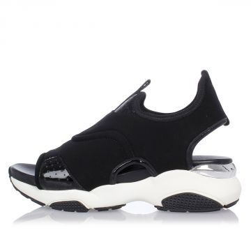 GARY Sneaker in Leather and Fabric