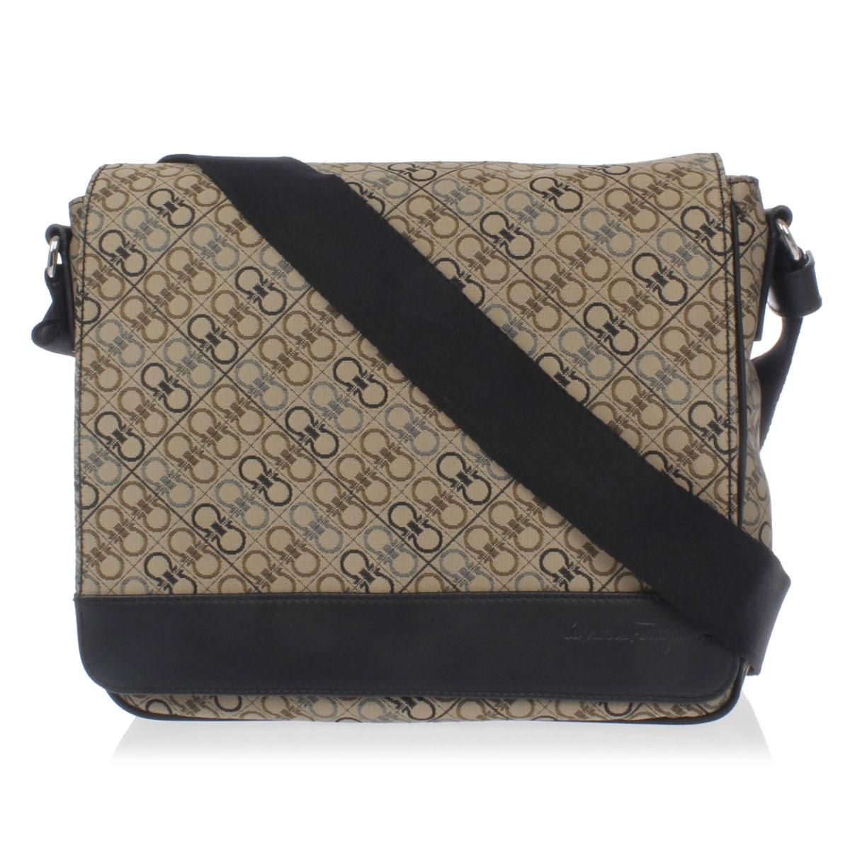 Salvatore Ferragamo Men Fabric Shoulder Bag
