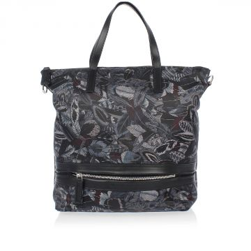 Printed Fabric Handbag