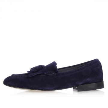 Leather LENCI Loafer with Tassels