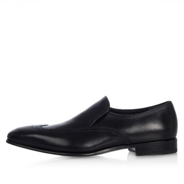 Leather LESTER Loafer with Dovetail
