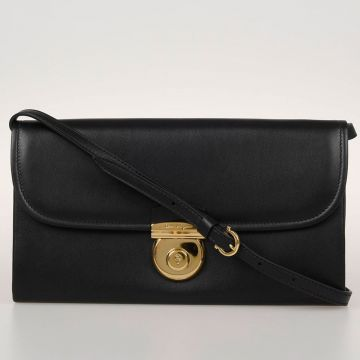 Leather Mini Strap Shoulder Bag
