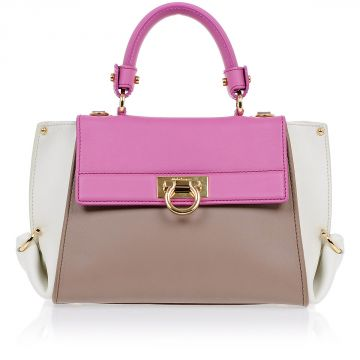 Leather SOFIA Handbag