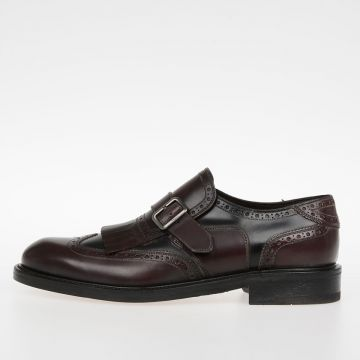 Leather GENESIS Loafer With Fringes