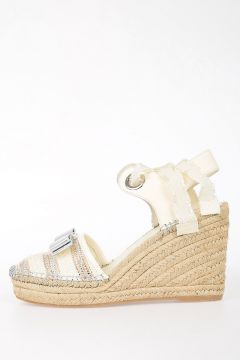 Wedge shoes EUGENIE With Bow