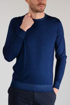 Virgin Wool and Silk Sweater