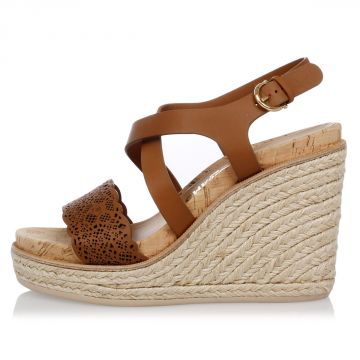 Leather GIOELA Wedge