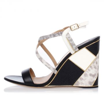 GRIS Sandal with Wedge