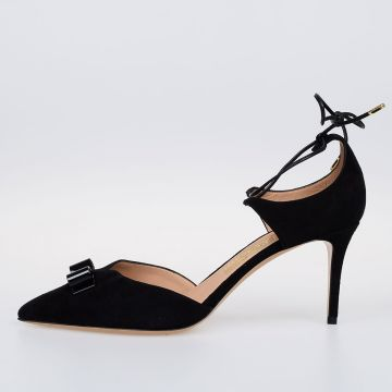 7cm Leather CAROLYN Pumps
