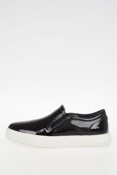 Leather LIZARD Slip On