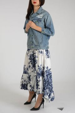 Embroidered Denim LAUMA Jacket