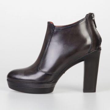 Stivali Bassi in Pelle 10 cm
