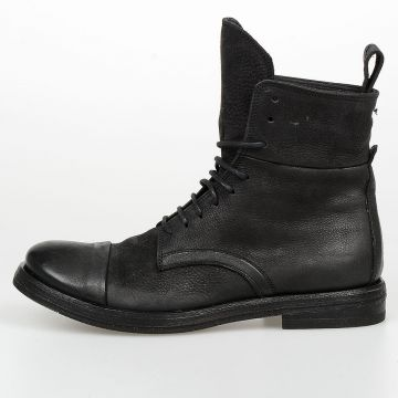 3 cm Lace-up Leather Boots