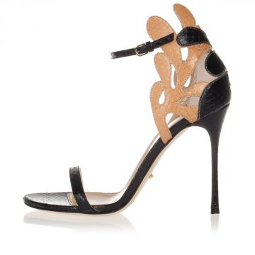 Python Sandals Heel 10 cm