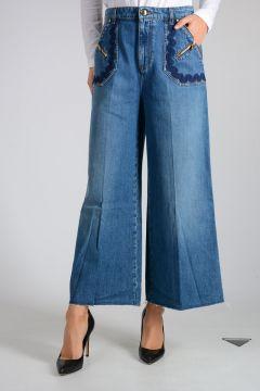 Jeans in Misto Cotone 32cm