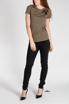 Striped Jersey Cotton T-shirt