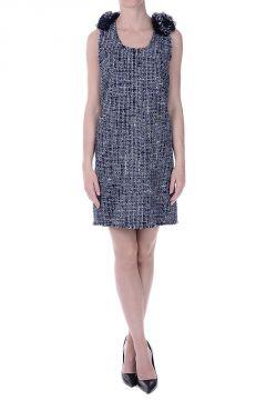 Cotton Linen Tweed Dress