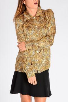 Camicia Leopardata in seta