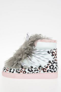 Leather And Fur Details QUENTIN WAN boot