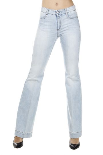Jeans Scampanato in Denim Stretch 30 cm