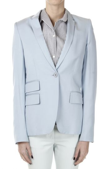 One Button Single Breasted Blazer