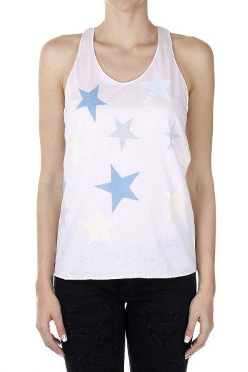 Stars Printed Tank Top