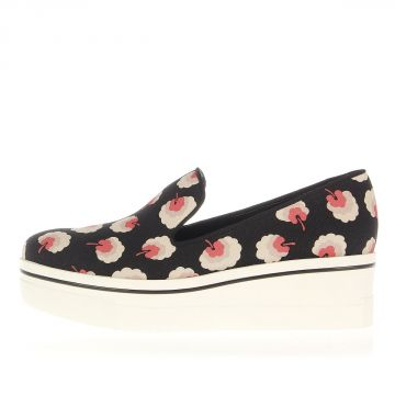 Sneakers Slip On Con stampa Fantasia