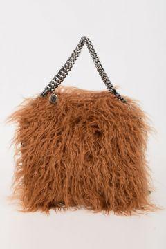 Faux Fur & Fabric FALABELLA Handbag