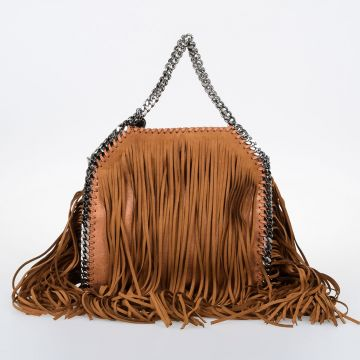 MINI FALABELLA Fringed Tote