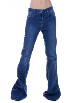 Stretch Denim Boot Cut Jeans 32 cm