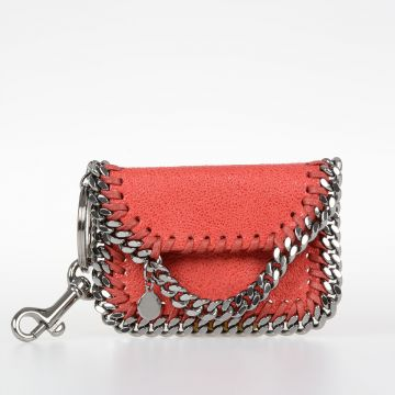 Leather Shaggy Falabella keyChain