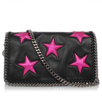 Leather Clutch with Applications