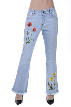 Stretch Denim Jeans 22 cm